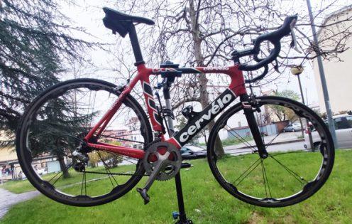Bici Cervélo Carbonio