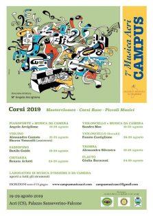 7° Campus di Musica 19 – 29 Agosto 2019