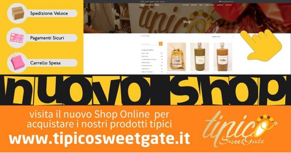 Nuovo Shop Online Sweet Gate
