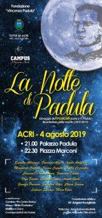 La notte di PADULA