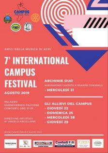International campus festival