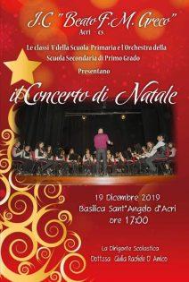Concerto di Natale • 19 Dicembre