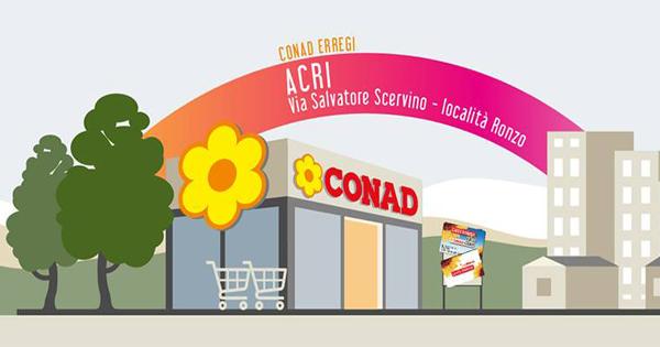"""Supermercato """"Conad Erregi"""""""