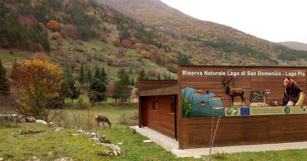Riserva Naturale Lago di San Domenico e Lago Pio                a Villalago