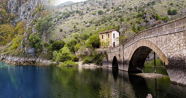"""""""Eremo di San Domenico"""" Villalago"""